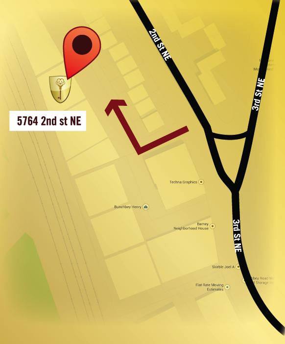 Directions to Washington Door (map)
