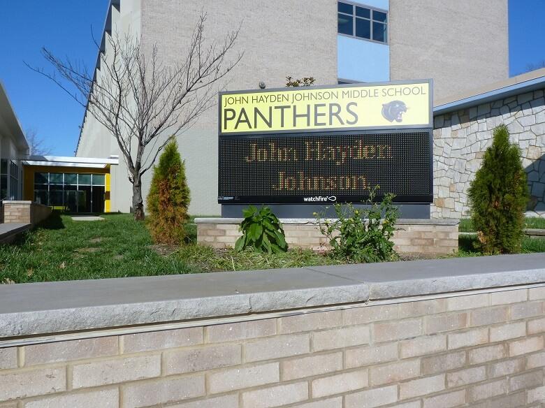 Washington Door and Hardware - John Hayden Johnson Middle School (installation)