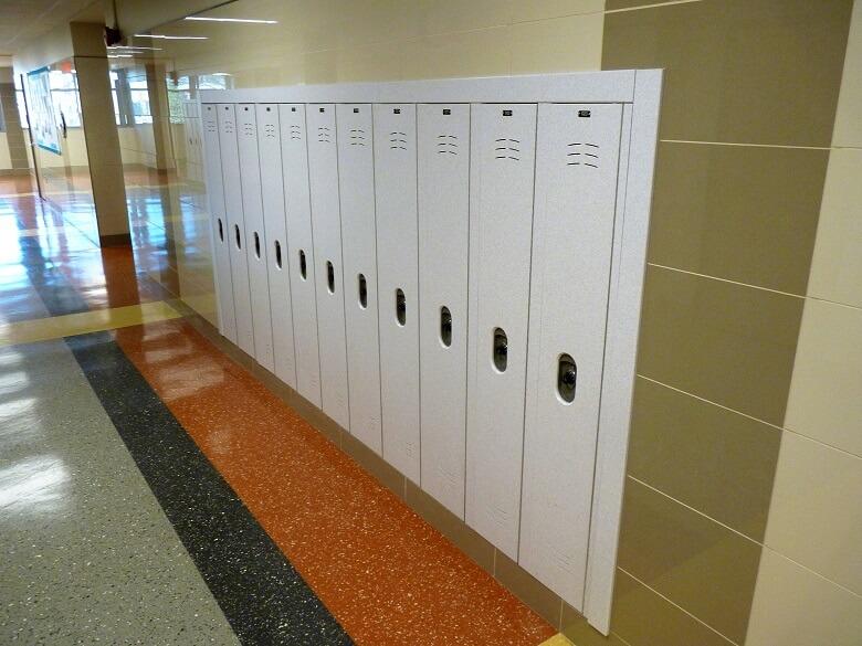 Washington Door and Hardware - Lockers (installation)