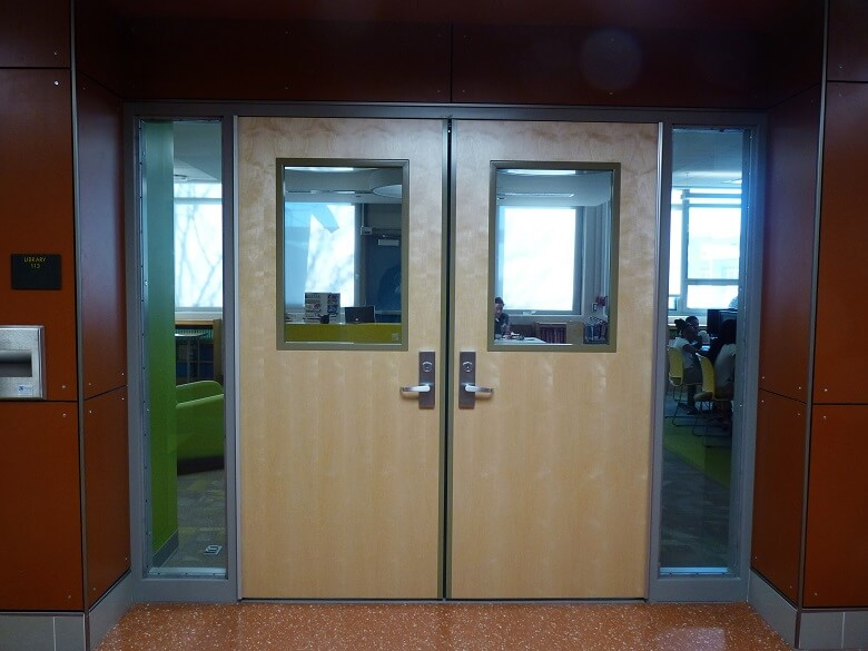 Washington Door and Hardware - School Doors (on site / installation)