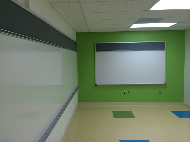 Washington Door and Hardware - White Board (installation)