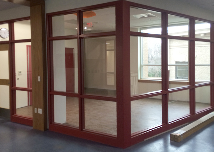 Washington Door and Hardware - Installation / Red Frame